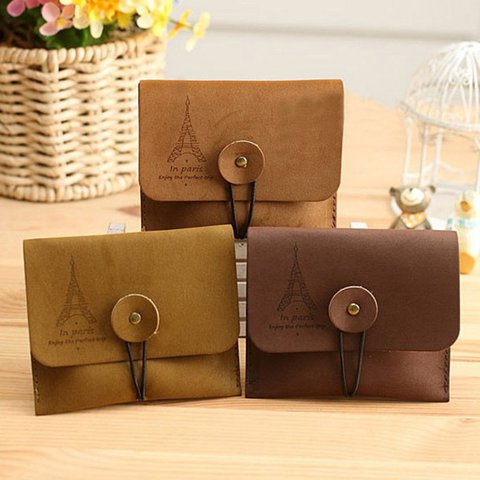 Women Vintage Casual Mini Purse Keys and Coins Wallets