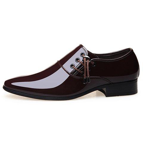 ba7d64da9a Men Classic Patent Leather Formal Dress Shoes - JustFashionNow.com