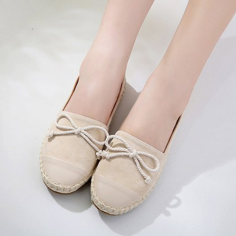 Plus Size Casual Split Joint Slip On Flat Loafers Comfort Casual Shoes