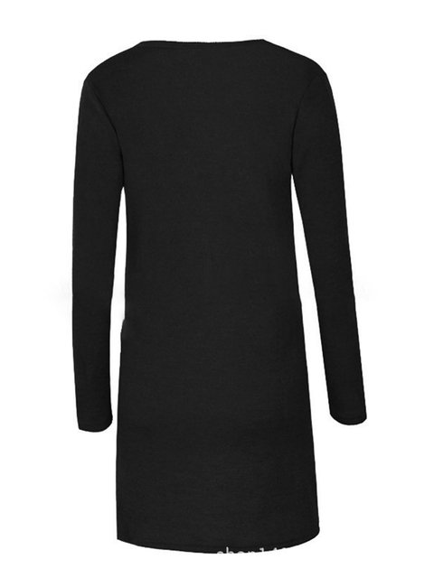 Paneled Slit neck Asymmetric Solid Sweater V wUBqI