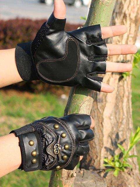 Mens Climbing Tactics Half-finger Gloves