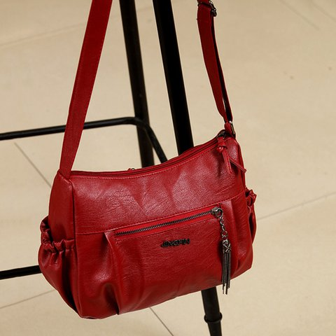 Women's Multi-pocket Outdoor Travel Casual PU Crossbody Bags