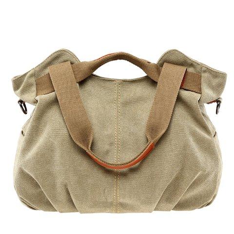 Women's Casual Outdoor TravelCanvas Zipper Shoulder Bags