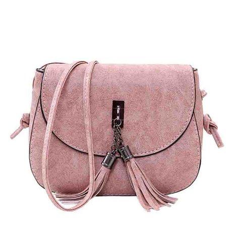 Tassel Women's Casual Phone PU Crossbody Bags