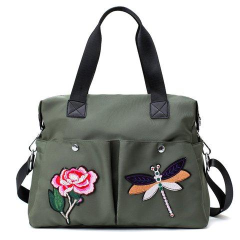 1ed79896b127 Women s Casual Outdoor Waterproof Lightweight Nylon Shoulder Bags ...