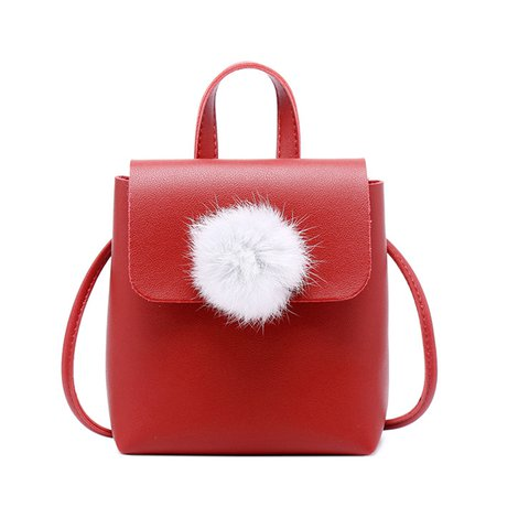 Women's Mini Cute Ball Phone PU Crossbody Bags