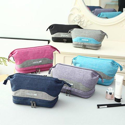 Women's Travel Waterproof Casual Cosmetic Zipper Storage Bags
