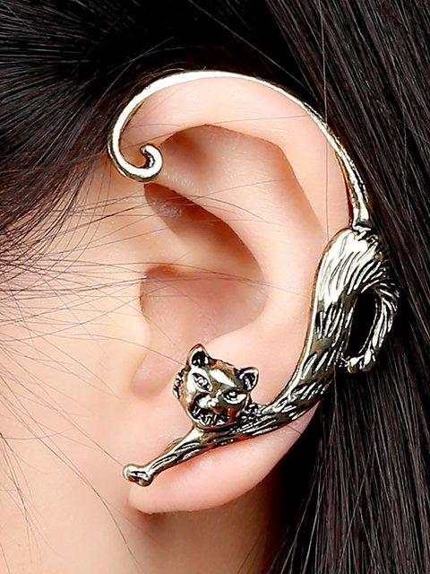 Retro Personality Punk Enchanting Cats ear hanging Earrings