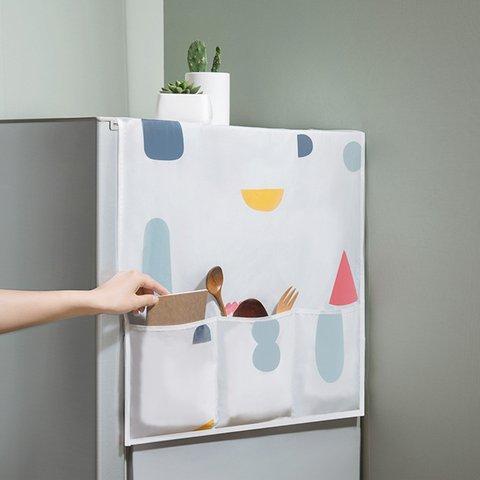 Refrigerator Cabinet Waterproof Dust Proof Side Storage Bags