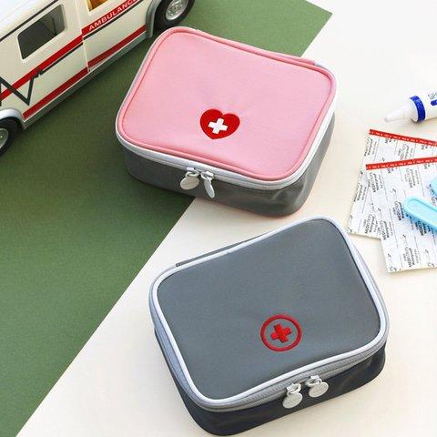 Portable Medicine Travel Outdoor Zipper Storage Bags