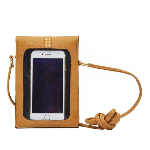 Screen Sensible Women's PU Buckle Mini Phone Crossbody Bags
