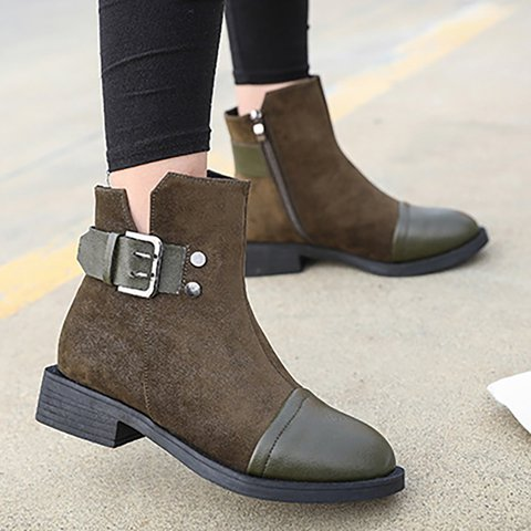 Women Booties Casual Comfort Shoes