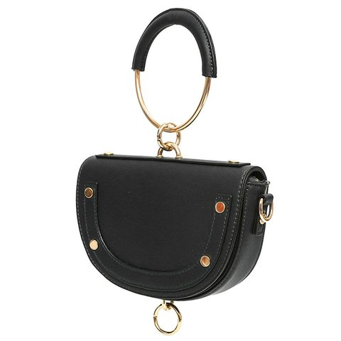 Women's Casual Ring PU Handbags Crossbody Bags