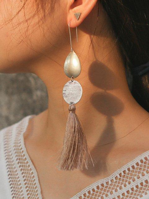 Womens Alloy Drop Earrings