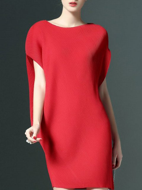 Shift Women Party Elegant Short Sleeve  Elegant Dress