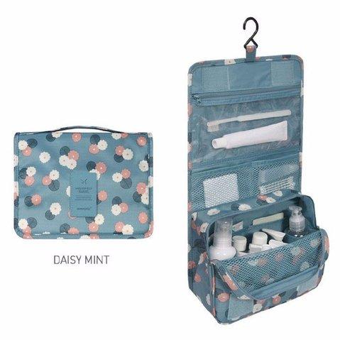 Waterproof  Cosmetic Bag Compact Makeup Storage Bag Case Bathroom Organizer