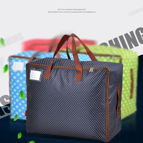 Durable Large Storage Bag  Oxford Fabric Clothes Bag