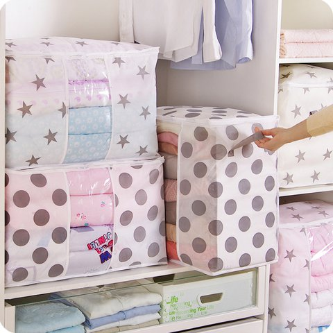 Non-woven Fabric Clothing Quilt Storage Bag