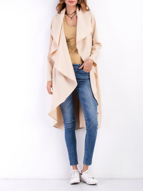 Casual Cardigan Cotton Collar Shawl Asymmetric PHCwxqvO