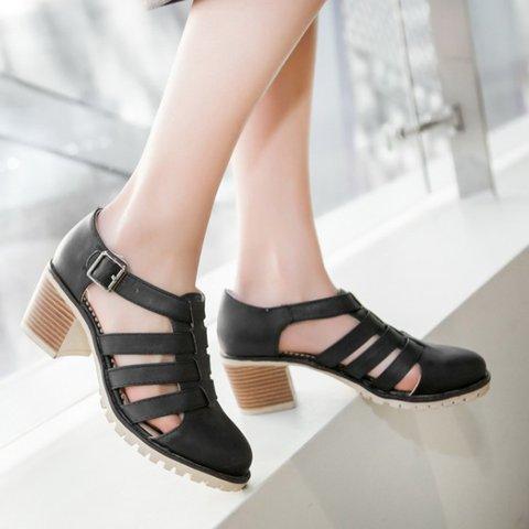 Women Chunky Casual Heel Boots