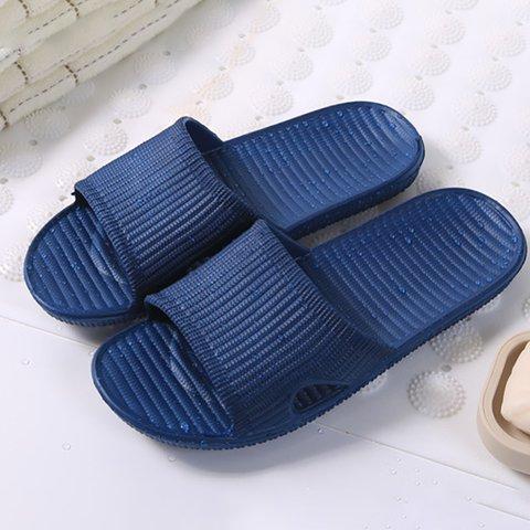 Daily Bathroom Plastic Unisex Slippers