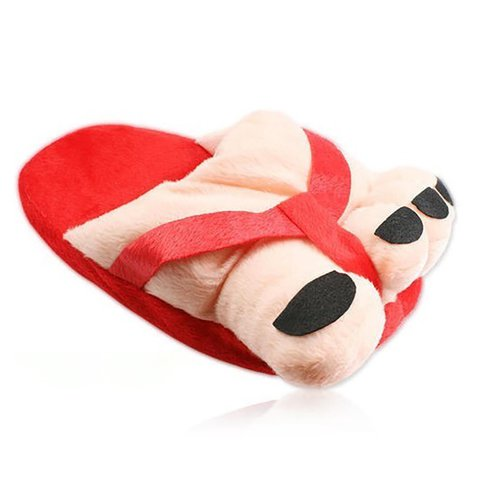 Unisex Cute Feet Winter Cloth Slipper