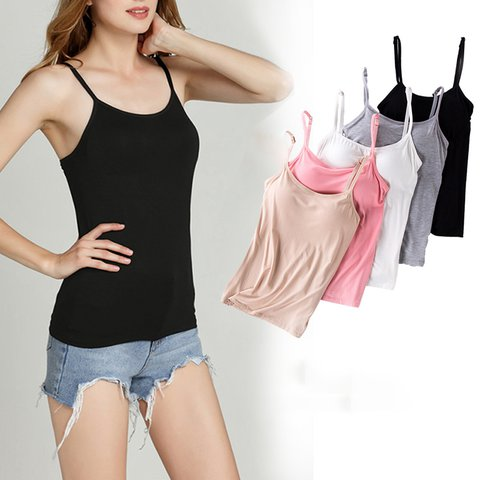 Modal Wireless T-shirt Bra Vests