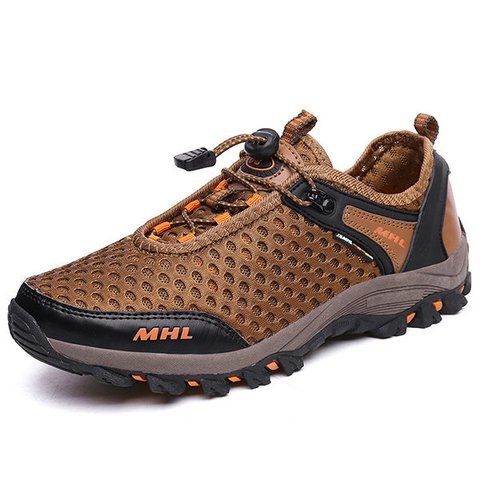 Men Mesh Water Friendly Outdoor Hiking Climbing Sneakers