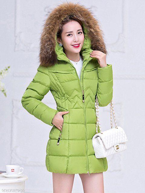 Casual Coat Sleeve Casual Solid Long Solid 8qYg8w