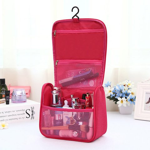 Multifunctional Waterproof Wash Hang Bag Outdoor Cosmetic Travel Storage Bag