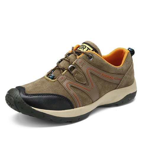 Men Suede Anti-collision Wear-resistant Outdoor Casual Sneakers