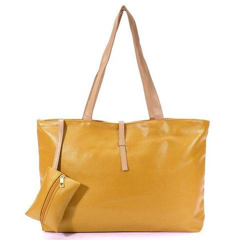Women Elegant Handbag High Capacity Leisure Shopping Casual Shoulder Bag