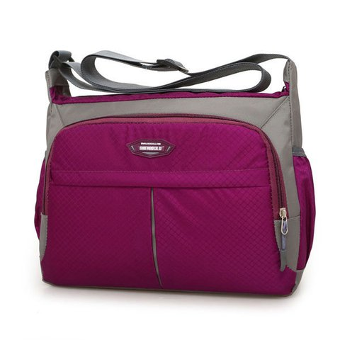 Casual Nylon Waterproof Lightweight Crossbody Bag Outdoor Lightweight Bag