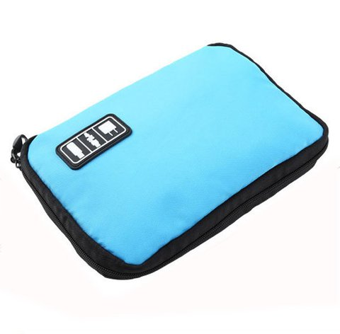 Unisex Travel Digital Storage Multifunction Business SD Card USB Cable Storage Bag