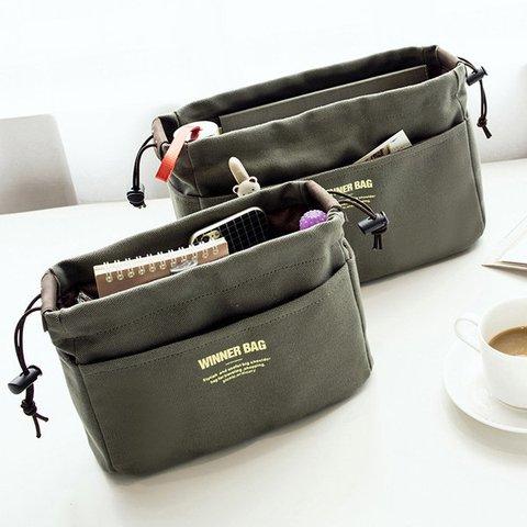 Women Canvas Portable Storage Bag Travel Cosmetic Toiletry Kit Bag