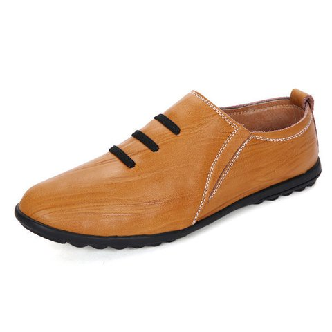 Men British Style Penny Loafers Slip On Flat Casual Driving Shoes
