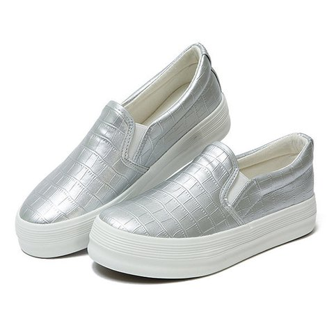 Women's Slip-On Round Toe Fashion Loafers