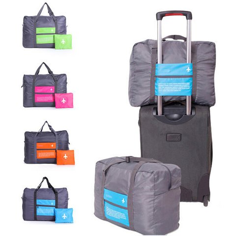 High Capacity Nylon Folding Travel Storage Bag