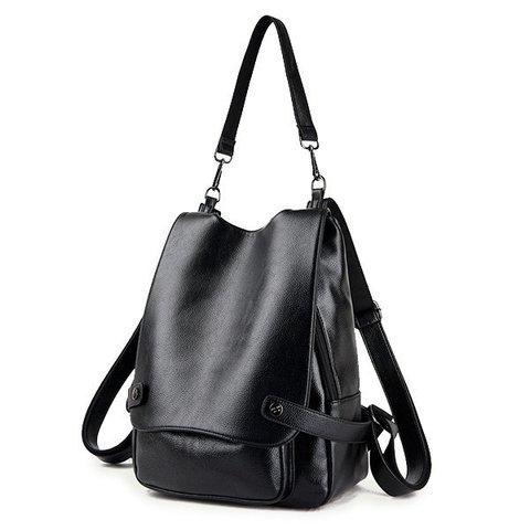 Superior PU Leather Multifunctional High Capacity Backpack Shoulder Bags