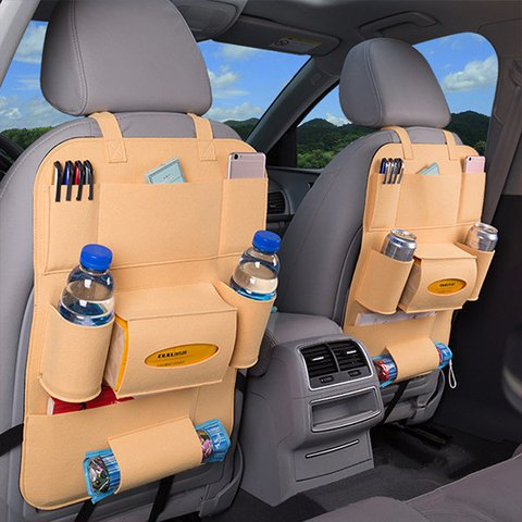 Multi-functional Non-wovens  Car Storage Bag Hanging Carriage Bag