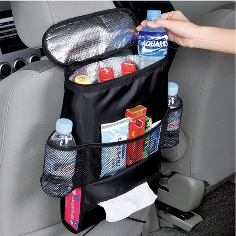 Outdoor Multi-functional Car Seat Storage Bag Oxford Heat Fresh Retaining Bag