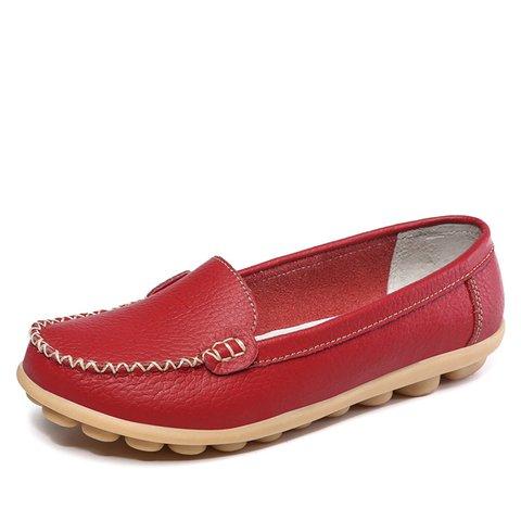 Women Slip On Soft Sole Flat Loafers