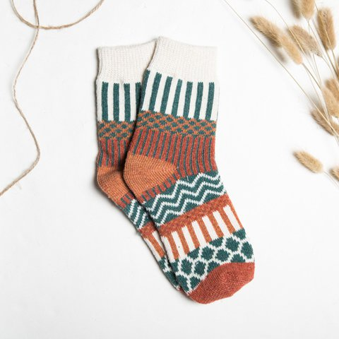 Women Casual Sheath Stripes Socks