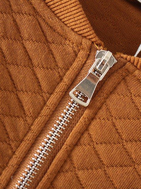 Plus Jacket Cotton Winter Pockets Casual Zipper Size qpSvzw