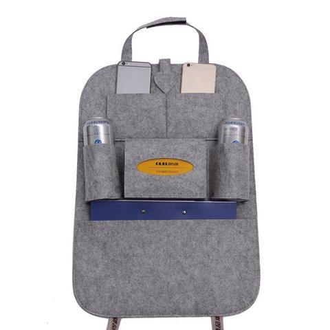 Blanket Car Seat Storage Bag 12 Colors Casual Multi-functional Bag