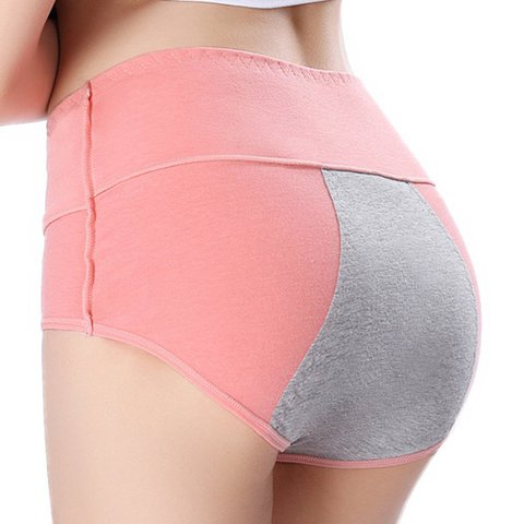 Cotton Menstruation Leakage-proof  Seamfree Underwear