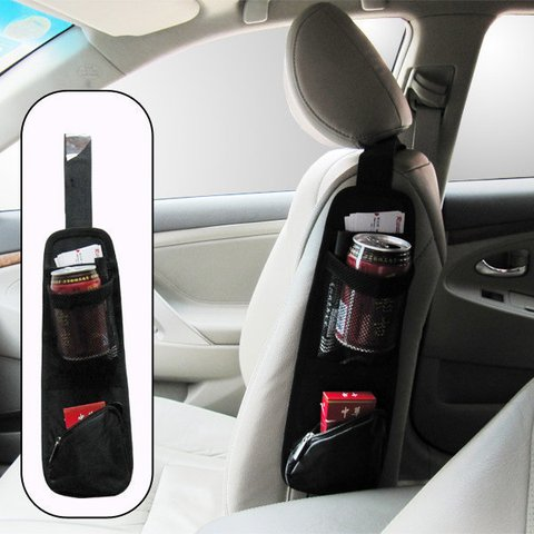 Car Accessories Outdoor Water Bottle Storage Durable Hanging Bag