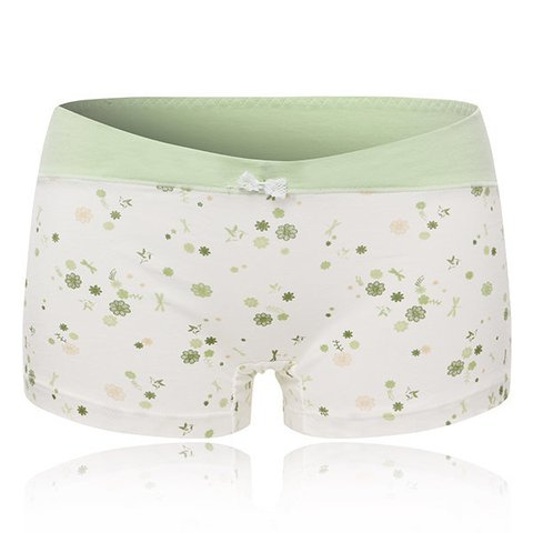 Cotton Boyshorts Breathable Anti-Lighting Cute Printed Panties