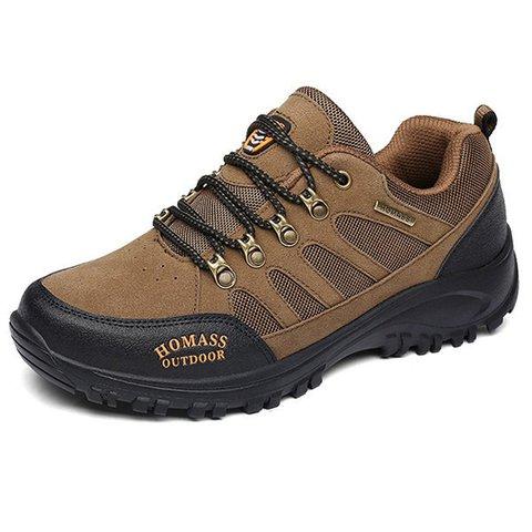 Men Slip Resistant Wear-resistant Casual Sneakers Hiking Shoes