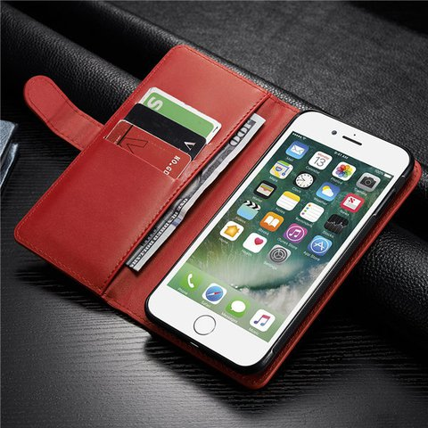Unisex Multifunctional Card Holder Detachable iPhone7/6/6s Phone Case Wallet